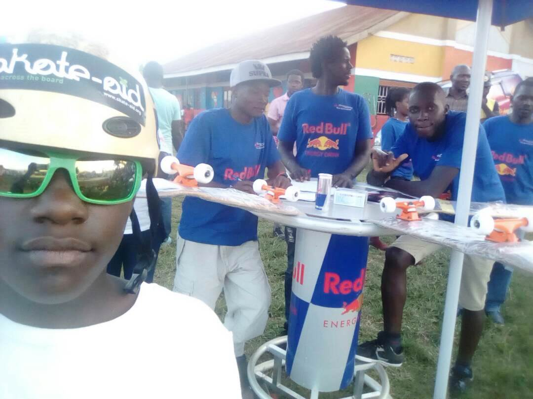 Red Bull & Skateaid